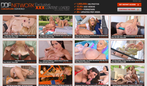 Best paid porn site with access to 14 glamour sex websites