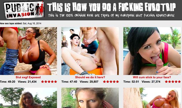 publicinvasion review top pay porn sites for public fucks