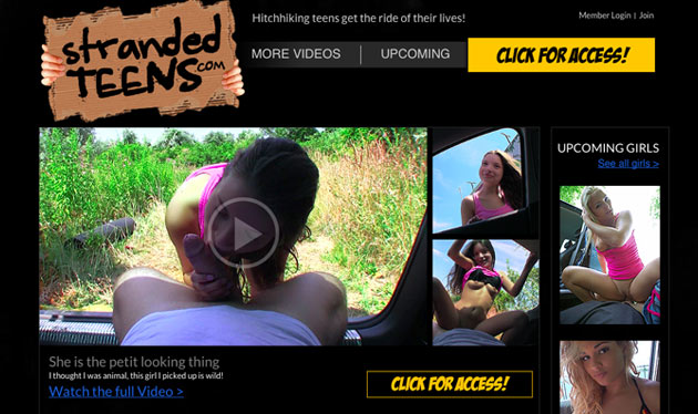 strandedteens review best paid porn sites for hitch hiking sex