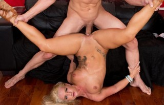 American blonde pornstar Cali Carter.