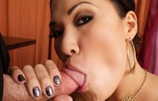 Top female asian pornstar London Keyes.