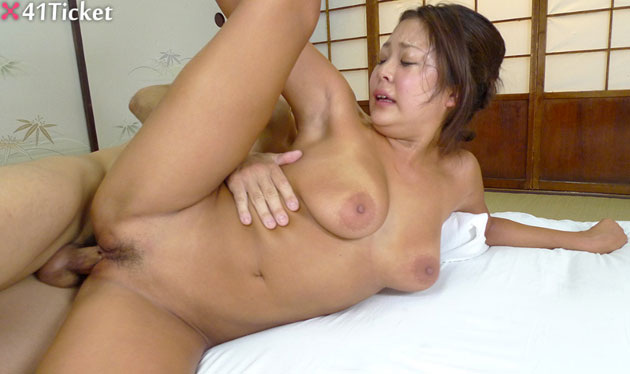 Massive titted chinese fucked