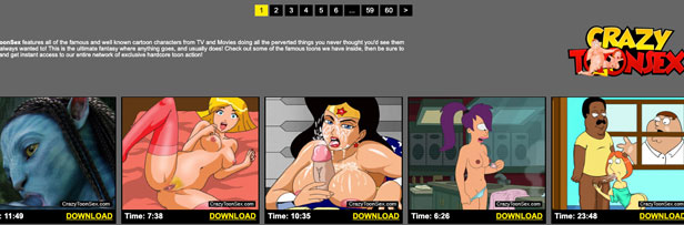 most worthy cartoon porn website offering class-A hardcore movies
